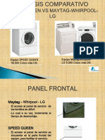 Comparativa Speed Queen vs Maytag-Whirlpool-LG