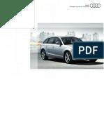 Manual Audi A4 B8 FormatA4