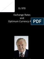 Ec 970 - Session 15 - Exchange Rates