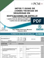 4 Expo Aspectos Estructurales Sanitarios Entorno en Itse de Detalle