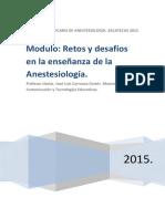 Memorias Retos y Desafios de l Anestesiologia