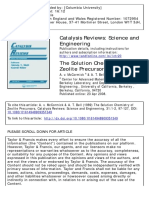 Catalysis Reviews Volume 31 Issue 1-2 1989 [Doi 10.1080%2F01614948909351349] McCormick, A. v.; Bell, A. T. -- The Solution Chemistry of Zeolit