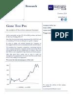 Gone Too Pro GPRO Full Report