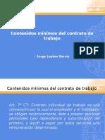 Clase Cto Trabajo Mínimos Curso Legislación Laboral.pptx