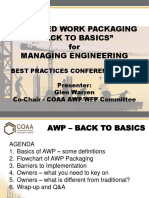 Engineering Work Packages