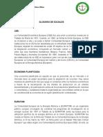 Glosario Sociales...