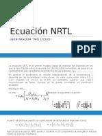 Ecuación NRTL