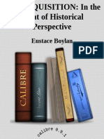 Eustace Boylan-The Inquisition in the Light of Historical Perspective