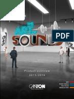 Canton Produktuebersicht 2015 2016 ENG WEB