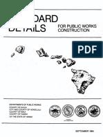 Standard Details Public Works Construction 2000