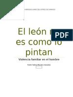 EL LEON NO ES COMO LO PINTAN.docx