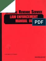 Law Enforcement Manual III, Form #09.042