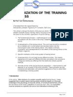 Organization Training Process