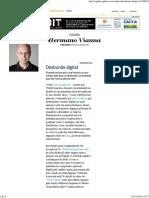 Desbunde Digital - Jornal O Globo
