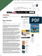Feiura e Destruição - 05-12-2014 - Michel Laub - Colunistas - Folha de S.paulo
