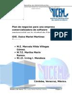 P1_DMMC_Plan de Negocios Para Una Empresa Comercializadora de Software Empresarial en La Ciudad de Córdoba,Ver
