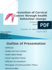 Cervical Cancer Presentation