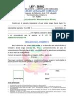 Declaración Jurada de Domicilio 2015 (1)