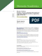 Acceso y Tenencia de La Tierra en Argentina