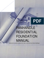 Panhandle Residential Foundation Manual