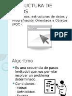 1 Algoritmos ESD y POO