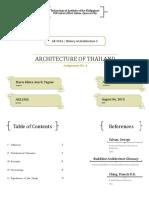 Assign No 6 - Thailand Architecture