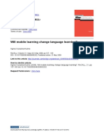 Hulme 2009 will mobile learning change LL.pdf