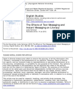 Verheijen 2013 the effects of text messaging and instant messaging on lit.pdf