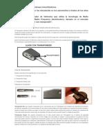 Los Transponder en Sistemas Inmovilizadores