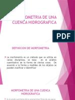 MORFOMETRIA DE UNA CUENCA HIDROGRAFICA.pptx