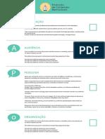 Produção de Conteúdo Memorável - Checklist