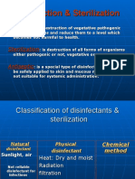 Disinfection & Sterilization 2