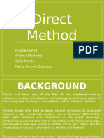 direct method didactics