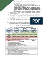 Recomendaciones Para Los Asesores de Arbitros 2013 Julio