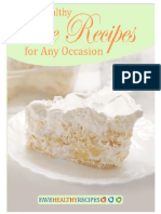 8 Healthy Cake Recipes for Any Occasion Free ECookbook