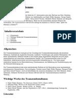 Transzendentalismus – Wikipedia