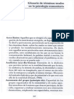 21556785 Glosario dasdsadsae Psicologia Comunitaria