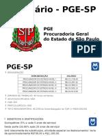 Webinário PGE-SP Finalizado