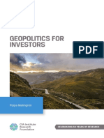 Geopolitics for Investors