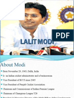 Group 2- Lalit Modi