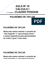 Cálculo i 18