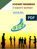 Daily Equity Report- Sai Proficient