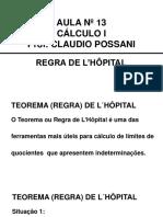 Cálculo i 13