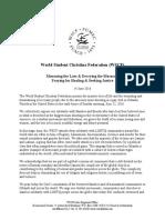 wscf statement on orlando incident 14 june 2016