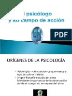 Campo de Acción Psicólogo