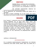 Informe 03 de Quimica