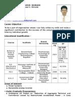MMB Professional Resume 2015-2016