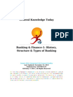 Banking Finance 1 History Structure Types of Banking