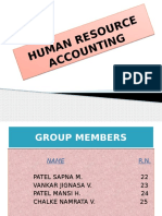 Human Resource Accounting
