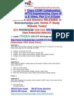 (2016 Jul. Latest)Braindump2go 300-075 VCE 355Q&as Offer(41-50)